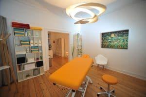 Wuppertal Massage. Der Behandlungsraum.