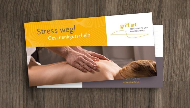 Wuppertal Massage Geschenkgutschein