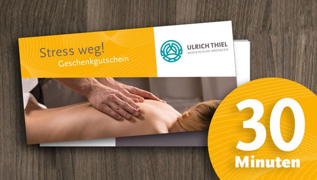 Wuppertal Massage Gutschein 30